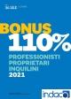 BONUS 110% - PROFESSIONISTI PROPRIETARI INQUILINI 2021